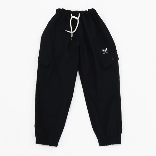 [쉐프앤코] Cotton Jogger Chef Pants - Black