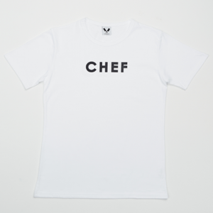 [쉐프앤코] Basic Chef Tee - White