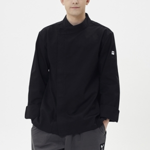 [쉐프앤코] Premium Chef Jacket - Real black