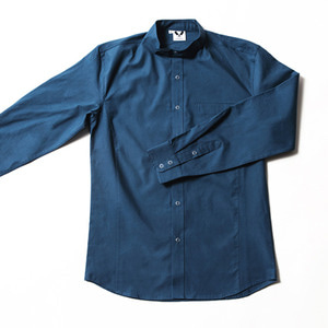 [쉐프앤코] Danish Chef Shirt - Rich Blue