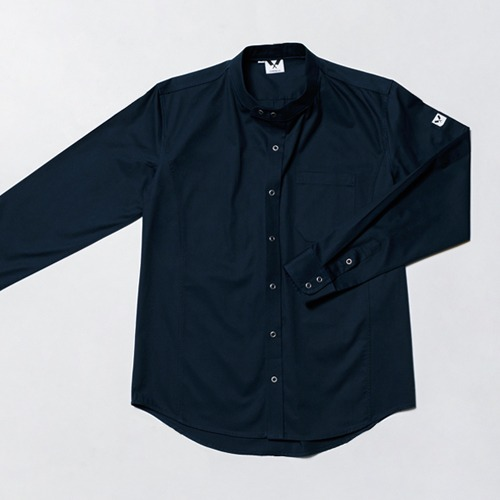 [쉐프앤코] Danish Chef Shirt - Teal Blue