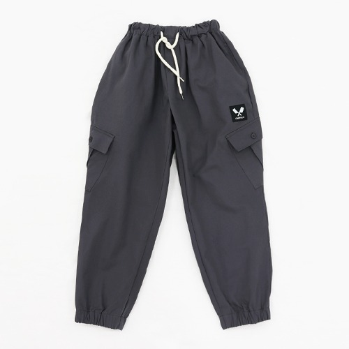 [쉐프앤코] Cotton Jogger Chef Pants - Grey